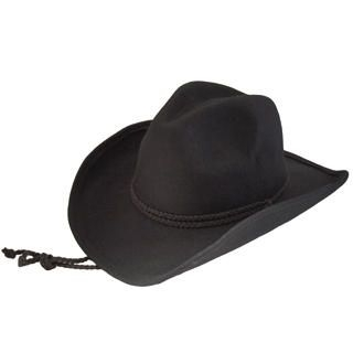 GRACE - Braided-Belt Cowboy Hat