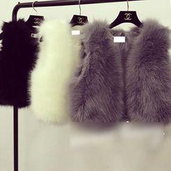 Octavia - Faux Fur Vest