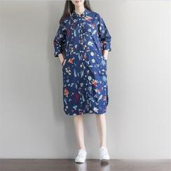 Fancy Show - Printed Shift Dress