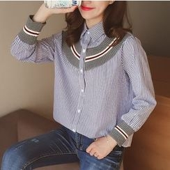 Cocofield - Pinstriped Shirt