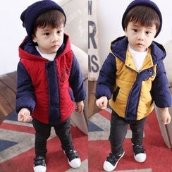 POMME - Kids Color Block Hooded Jacket