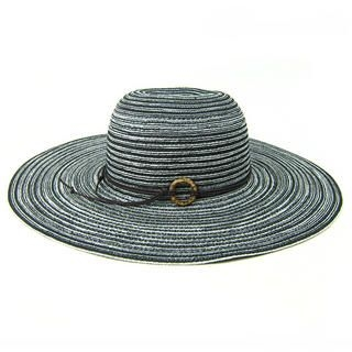 Momiton - Striped Straw Sun Hat