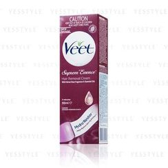 Veet - Hair Removal Cream - Velvet Rose Fragrance & Essential Oils (Suprem Essence) (Red)