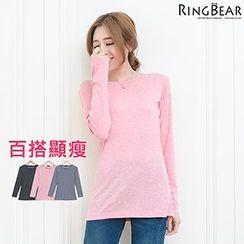 RingBear - Long Sleeve Striped Tee