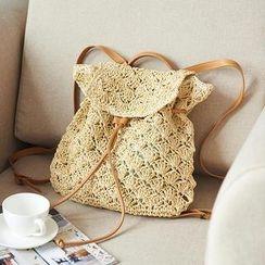 Trava - Straw Backpack