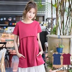 RingBear - Short Sleeve Long Top