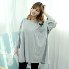 Dodostyle - Pocket-Front Loose-Fit T-Shirt