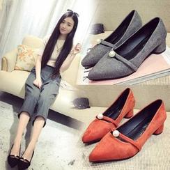 Tania - 尖頭平跟鞋