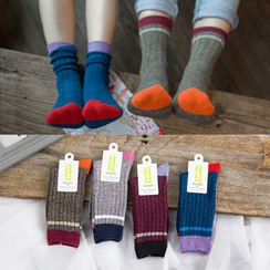 Cloud Femme - Color Block Socks