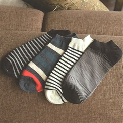 Knit a Bit - 條紋襪