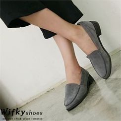 Wifky - Faux-Suede Loafers