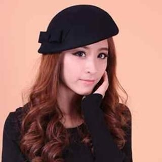 Momiton - Bow-Accent Beret