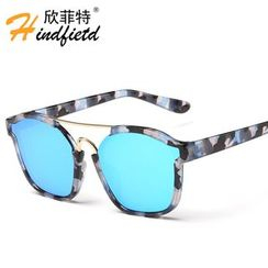 Koon - Cut Out Square Sunglasses