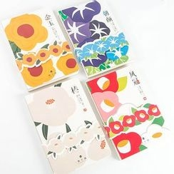Homey House - Floral Print Notebook (S)