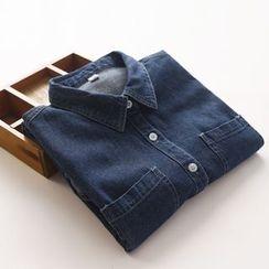 布丁坊 - 牛仔襯衫