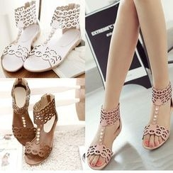 TULASI - Lattice High-top Sandals