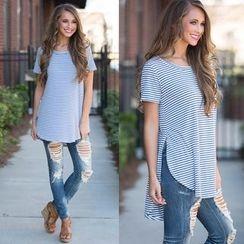 Chika - Striped T-Shirt