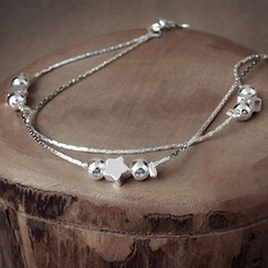maxine - 925 纯银星星手链