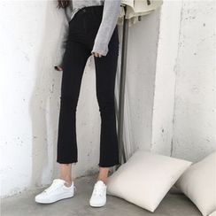 Jeans Kingdom - Cropped Boot Cut Jeans