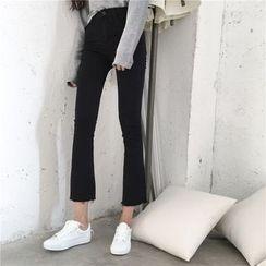Jeans Kingdom - 寬腿九分牛仔褲