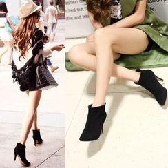Romantina - High Heel Short Boots