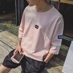 Soulcity - 七分袖印花T恤