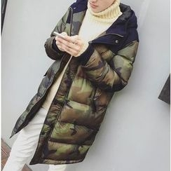 Bestrooy - Camouflage Padded Coat