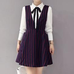 ONXZ - Striped Jumper Skirt