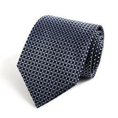Xin Club - 点点真丝领带 (8cm)