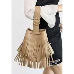 INSTYLEFIT - Fringed Wristlet Clutch