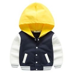 Kido - Kids Hooded Baseball Jacket