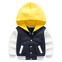 Kido - 童装连帽棒球夹克