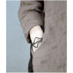 Zeno - Geometric Open Bangle