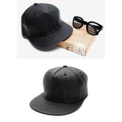 JOGUNSHOP - Faux-Leather Cap