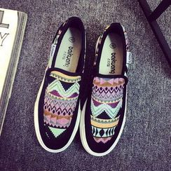 Solejoy - Patterned Slip-Ons