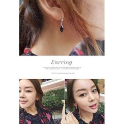 BBORAM - Rhinestone-Dangle Earrings
