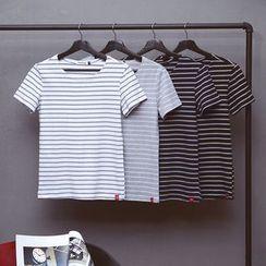 Edway - Stripe Short-Sleeve T-Shirt