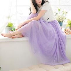 东京著衣 - 长薄纱裙