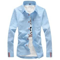 Blueforce - Contrast Trim Shirt