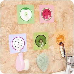 Desu - Fruit Printed Adhesive Wall Hook
