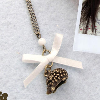 MyLittleThing - Vintage Hedgehog Necklace