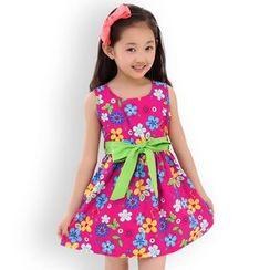 Famula - Kids Floral A-Line Dress
