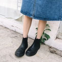 SouthBay Shoes - Low Heel Ankle Boots