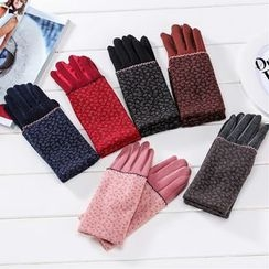 Ciroki - Floral Touchscreen Gloves