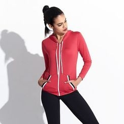 Goldlyre - Sport Hooded Zip Jacket