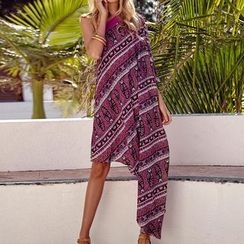 Rebecca - Patterned Sleeveless Dress