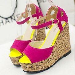 BAYO - Wedge Sandals