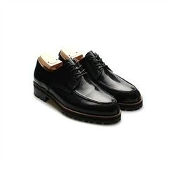 THE COVER - Genuine Leather Lace-Up Oxfords