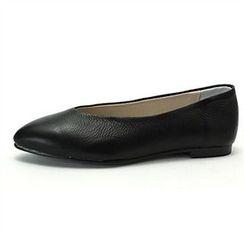 MODELSIS - Genuine Leather Flats