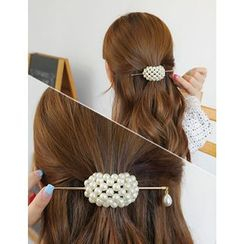 soo n soo - Faux-Pearl Hair Pin